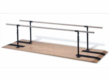 Height Adjustable Parallel Bars for Physical Therapy