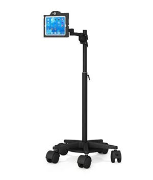 Height Adjustable Locking iPad Cart