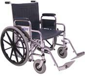 Hemi Extra Wide Wheelchair
