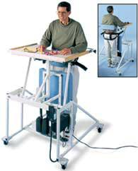 Hi-Lo Stand In Therapy Table w/ Electric Patient Lift