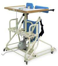 Hi-Lo Stand-In Therapy Table w/ Electric Patient Lift