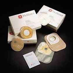 HolliGard Seal Stoma Pouch with Belt Tabs