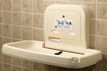 Horizontal Baby Changing Station