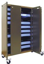 Horizontal Locking Panel for 53-3/8in High Chart Racks