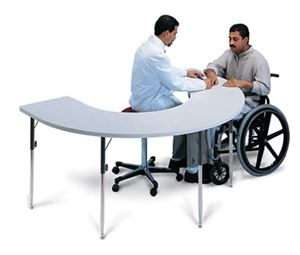 Horseshoe Therapy Table