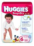 Huggies Snug & Dry Disposable Diapers, 35 lbs & up