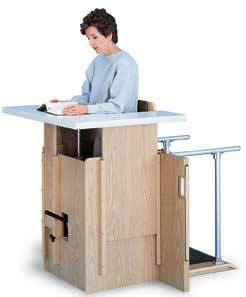 Hydraulic Adjustable Stand In Table