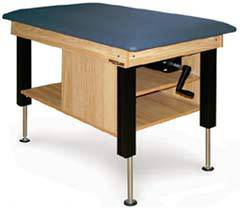 Crank Hydraulic Taping Table