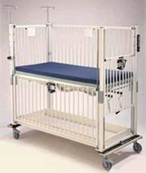 ICU Child Crib w/ Gatch Deck