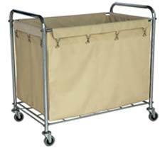 Wheeled Linen Transport Poly Cart Cheap Price