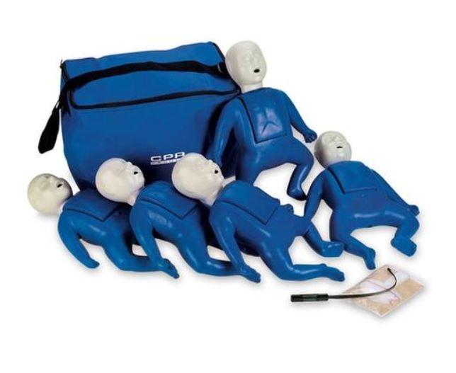 Infant CPR Training Manikin 5 Pack