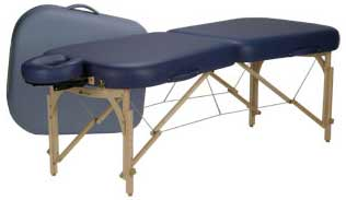 Infinity LT Portable Massage Table Silver Package