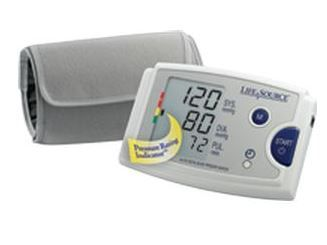 Medical Quick Response Blood Pressure Monitor with Easy-Fit Cuff