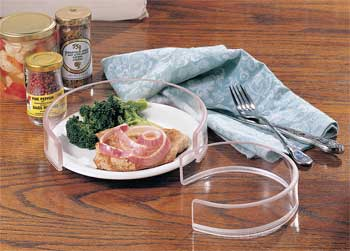 Invisible Food Guard For 8 12 to 10 in. Plates