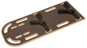 Half Length EMS Backboard w/ Speed Clip Pins