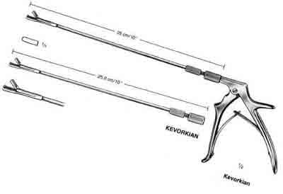 Kevorkian-Younge Uterine Forceps