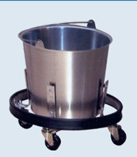 Stainless Steel Kick Bucket