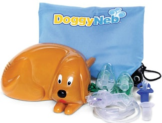 Doggy Shaped Pediatric Nebulizer System