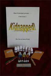 Kidnapped - Crime Scene Kit