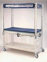 Kilmer Infant Crib Flat Pan Deck