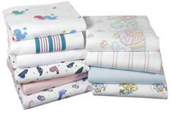 Baby Blankets w/ Colorful Print 36in x 40in