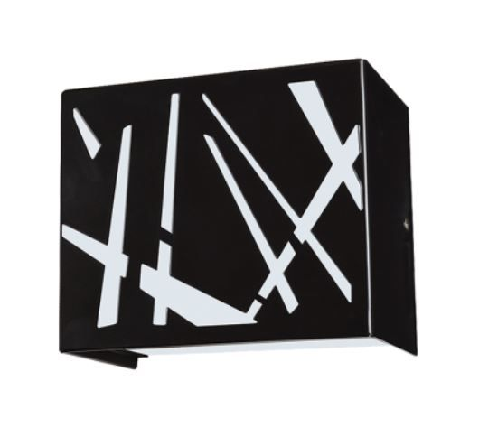 LED Bold Deco Diagonal Cut Hospital Sconce