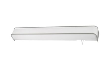 LED Contemporary Overbed Light w/ Decorative Accent Trim