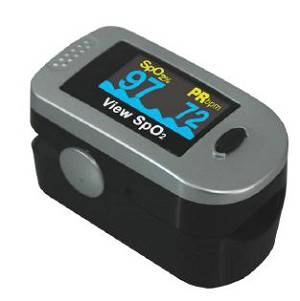 OLED Display Fingertip Pulse Oximeter