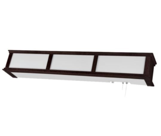 LED Elegant Wood Trim Hospital Overbed Light