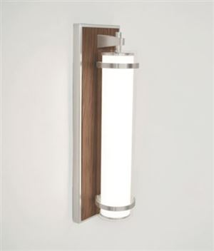 LED Modern Hospital Sconce w/ Metal Accents