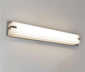 LED Modular Vanity Light w/ Metal Accents