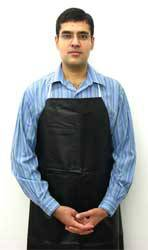 Black Multi-Purpose Lab Apron