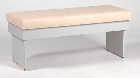 Laminate Base Double Bench