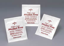 Large Alcohol Prep Pads