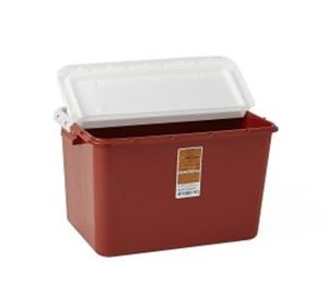 Large Capacity Biohazard Container 8 Gal.