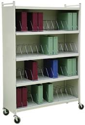 Large Cabinet Style Chart Rack 48 Binder Capacity