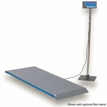 Large Capacity Veterinary Platform Scale - 2000 lbs