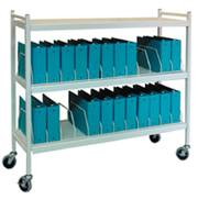 Large Chart Rack, 24 Binder Capacity