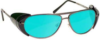 Laser Safety Glasses AVIATOR-BG42