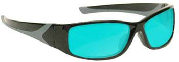 Laser Safety Glasses WRAP-BG38