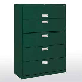 Lateral File Cabinet w/ Five Drawers