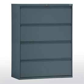 Lateral File Cabinet w/ Four Drawers