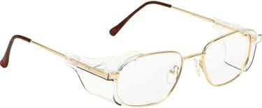Leaded Prescription Safety Glasses (METAL GD)