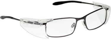Leaded Prescription Safety Glasses METAL GY