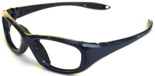 Leaded Prescription Safety Glasses Side Shields MXS