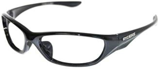 Leaded Safety Glasses_Metallic Black