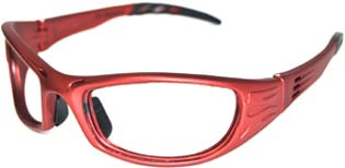 Leaded Prescription Safety Glasses w/ Side Shields (VIPRS)