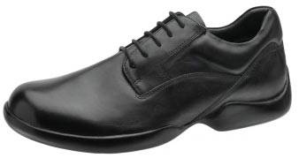 Diabetic Classic Lace Plain Toe Shoes