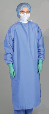 Lightweight 1-Ply Blockade Surgeons Gown