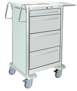Lightweight Aluminum Punch Card Cart, 369 Cards